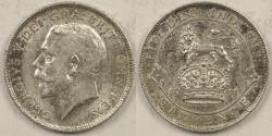 World Coins - GREAT BRITAIN, George V, 1911, 6 Pence, AU