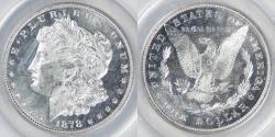Us Coins - 1878 8TF VAM-23 Morgan Dollar graded MS-62 CAMEO PL graded by ANACS