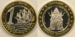 World Coins - GREAT BRITAIN, 2003 Euro, Gem Proof Deep Cameo
