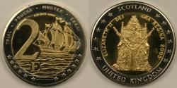 World Coins - GREAT BRITAIN, 2003, 2 Euro, Gem Proof Deep Cameo