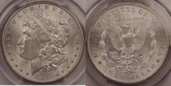 Us Coins - 1902-O Morgan Dollar graded MS-63 by PCGS
