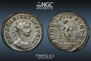 Ancient Coins - Carinus – NGC AU 5/5 4/5 – PERFECT NGC 5/5 STRIKE - 4.06g 20mm - AE Antoninianus.