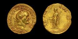 VESPASIAN GOLD AUREUS BOSCOREALE HOARD