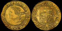 World Coins - JAMES I GOLD HAMMERED LAUREL