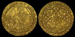 World Coins - RICHARD II GOLD HAMMERED NOBLE, MS 63