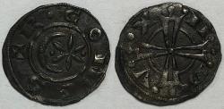 World Coins - FRANCE, Provence. Raymond V-VI, 1148-1222 AD. AR Denier - Medieval coin