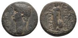 Ancient Coins - Lydia. Sardeis. Claudius AD 41-54. Bronze Ae 3gr 12.5mm