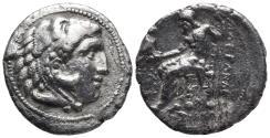 Ancient Coins - KINGS of MACEDON. Alexander III, 336-323 BC AR tetradrachm  15.5gr 26.9mm
