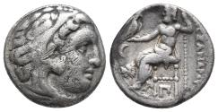 Ancient Coins - Kingdom of Macedon. Alexander III, The Great. drachm. 336-323 BC 4gr 16.7mm
