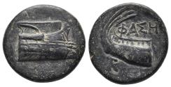 Ancient Coins - LYCIA - Phaselis - AE 190-167 BC  5.8gr, 18.8mm