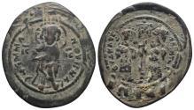 Ancient Coins - BYZANTINE EMPIRE. Constantine X. 1059-1067. Æ follis 9.8gr 29.7mm