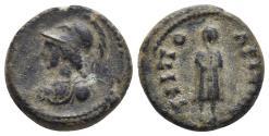 Ancient Coins - Lydia, Tripolis. Pseudo-autonomous issue. 2nd century A.D. Æ 2.7gr 15.6mm