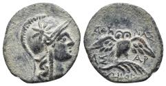 Ancient Coins - MYSIA. Pergamon. Early-mid 2nd century BC 2.2gr, 16.4mm