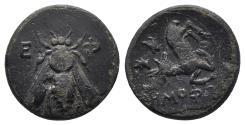 Ancient Coins - IONIA. Ephesos. Circa 405-390 BC. 2.1gr, 14.2mm