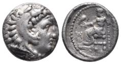 Ancient Coins - Kingdom of Macedon. Alexander III, The Great. drachm. 336-323 BC 4.2gr 15.5mm