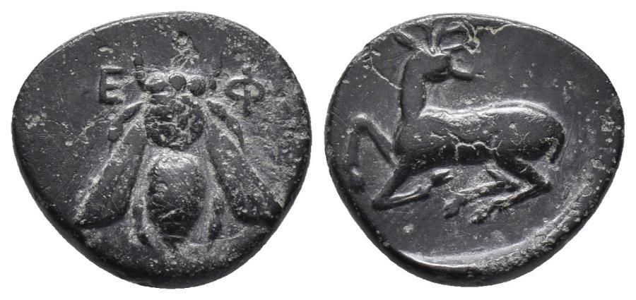 Ancient Coins - IONIA. Ephesos. Circa 405-390 BC. 2.2gr, 14.9mm