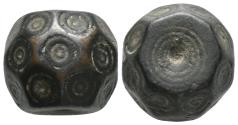 Ancient Coins - Byzantine Bronze weight 6th-8th century A.D. 28.9gr, 18.8×15.4mm