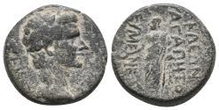 Ancient Coins - Phrygia. Eumeneia. Tiberius AD 14-37. 5.2gr, 18.2mm