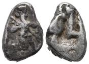 Ancient Coins - Achaemenid Empire. Sardeis. Time of Darius I to Xerxes I 505-480 BC 5.5gr 17.8mm