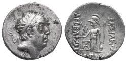 Ancient Coins - Kings of Cappadocia, Ariobarzanes I Philoromaios 4gr 18mm