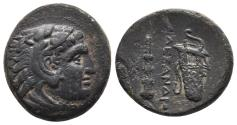"""Ancient Coins - Kingdom of Macedon. Alexander III, """"The Great"""". AE 18. 336-323 BC. Uncertain mint 5.4gr, 19.5mm"""