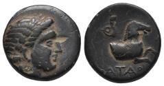 Ancient Coins - Greek Coins MYSIA. Atarneos. Ae (Circa 350-300 BC). 4.2gr, 16.2mm