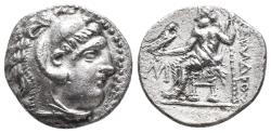Ancient Coins - Kingdom of Macedon. Alexander III, The Great. drachm. 336-323 BC 4.1gr 17.5mm