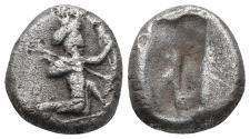 Ancient Coins - Achaemenid Empire. Sardeis. Time of Darius I to Xerxes I 505-480 BC. 5.2gr 15.5mm