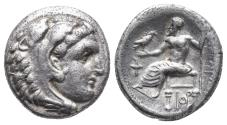 Ancient Coins - Kingdom of Macedon. Alexander III, The Great. drachm. 336-323 BC 4.2gr 16.3mm