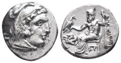 Ancient Coins - Kingdom of Macedon. Alexander III, The Great. drachm. 336-323 BC 4.3gr 17.8mm