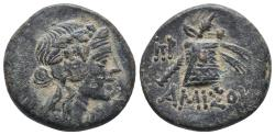 Ancient Coins - Pontus amisus 7.3gr 21.9mm