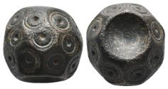 Ancient Coins - Byzantine Bronze weight 6th-8th century A.D. 14.5gr, 15.3×12.8mm
