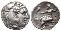 Ancient Coins - Kingdom of Macedon. Alexander III, The Great. drachm. 336-323 BC 4.1gr 17.8mm