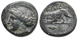 Ancient Coins - THRACE. Kardia. Ae (Circa 357/46-309 BC). 8.2gr, 19.8mm
