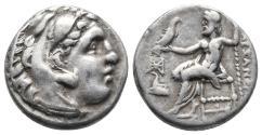 Ancient Coins - Alexander III – Antigonos I Monophthalmos. Circa 333-305 BC. AR Drachm Uncertain mint  (4.2gr, 16.9mm)