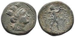 Ancient Coins - PHRYGIA. Apameia. Ae (Circa 88-40 BC 7.0gr, 21.2mm