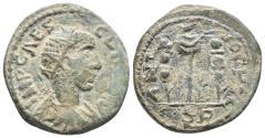Ancient Coins - Volusian Pisidia AE23 Antioch 251-253 AD 9gr 23.6mm
