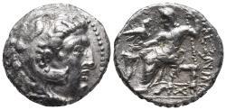 Ancient Coins - EASTERN EUROPE, Imitations of Alexander III of Macedon. 3rd century BC. AR Tetradrachm 16.3gr 26.2mm