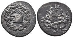 Ancient Coins - MYSIA, Pergamon. Circa 166-67 BC. Cistophoric 12.2gr 26.8mm
