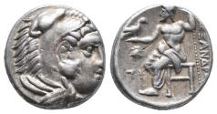 Ancient Coins - Kingdom of Macedon. Alexander III, The Great. drachm. 336-323 BC 4.2gr 15.7mm