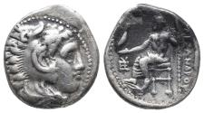 Ancient Coins - Kingdom of Macedon. Alexander III, The Great. drachm. 336-323 BC 4.1gr 17.2mm