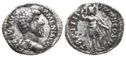 Ancient Coins - Lucius Verus. AD 161-169. AR Denarius3.3gr, 17.9mm