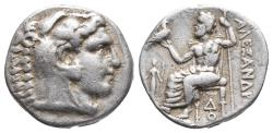 Ancient Coins - KINGS OF MACEDON. Alexander III 'the Great', 336-323 BC. AR Drachm Weight: 4.1 Diameter 16