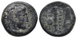 Ancient Coins - Macedonian Kingdom. Alexander III the Great. 336-323 B.C. 6.8gr 18.8mm