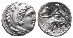 Ancient Coins - Kingdom of Macedon. Alexander III, The Great. drachm. 336-323 BC 4.4gr 16.1mm
