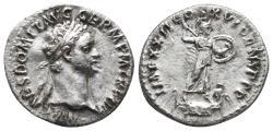 Ancient Coins - Domitian. AD 81-96. AR Denarius (3.2 gr, 18.9mm)