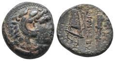 Ancient Coins - Macedonian Kingdom. Alexander III the Great. 336-323 B.C. 4.6gr 17.5mm