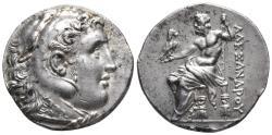 Ancient Coins - KINGS OF MACEDON. Alexander III 'the Great' 336-323 BC. Tetradrachm. Weight: 16.99 g Diameter: 28.4 mm