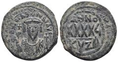 Ancient Coins - Phocas (602-610) AE Follis Cyzicus 10.9gr 29mm