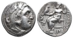 Ancient Coins - Kingdom of Macedon. Alexander III, The Great. drachm. 336-323 BC 4gr 18.2mm